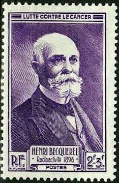 Henri Becquerel (1852-1908) prix Nobel de physique 1903