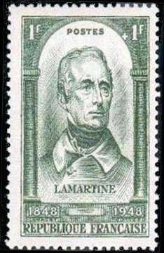 Alphonse Marie-Louis de Prat de Lamartine (1790-1869)