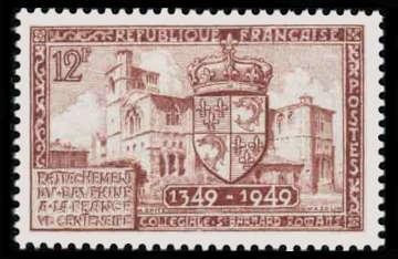 Centenaire du rattachement du Dauphiné