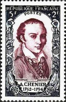 André Chénier (1762-1794) poète