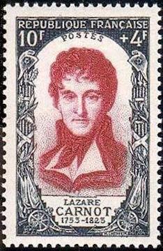 Lazare Carnot (1753-1823)  mathématicien et homme politique français