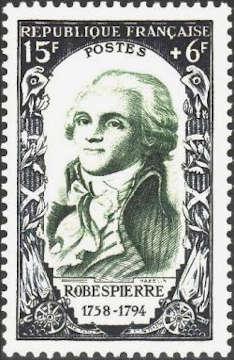 Maximilien Robespierre (1758-1794) avocat et un homme politique français