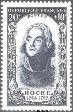 Lazare Hoche (1768-1797) général français de la Révolution