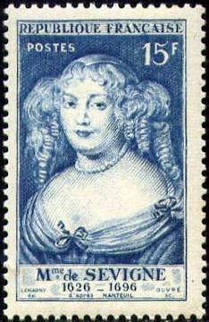 Madame de Sévigné (1626-1696) femme de lettres