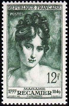 Madame Récamier (1777-1849) femme de lettres
