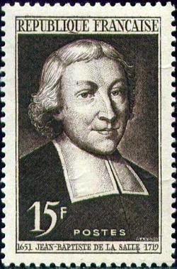Jean -Baptiste de la Salle (1651-1719) ecclésiastique français
