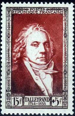 Talleyrand (1754-1838) homme d'État et diplomate français