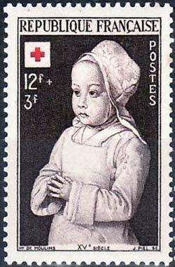 Croix rouge Enfant royal en prière