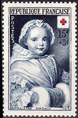 Croix rouge «Nicole Ricard enfant» d´après Quentin de La Tour