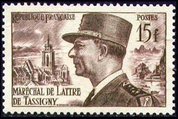 Maréchal de Lattre de Tassigny (1889-1952)
