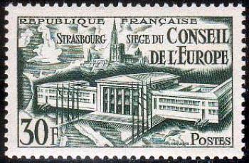 ' Réunion du conseil de l''Europe à Strasbourg '