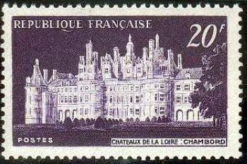 ' Château de Chambord et premier spectacle ''son et lumière'' '