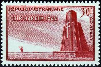 10ème annversaire de la victoire de Bir Hakeim (Libye)
