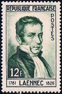 Dr René Laennec inventeur du stéthoscope