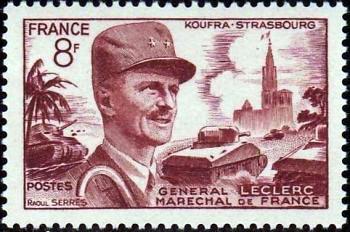 Le maréchal Leclerc et la cathédrale de Strasbourg