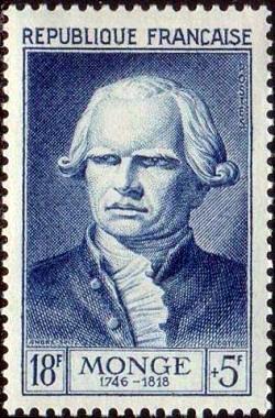 Gaspard Monge (1746-1818) comte de Pelouse, mathématicien