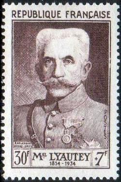 Maréchal Hubert Lyautey (1854-1934)