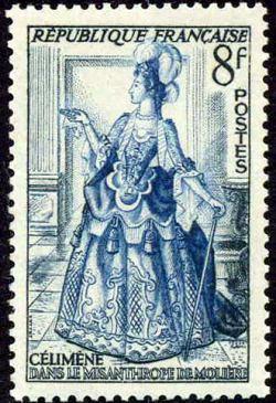Célimene dans le «Misanthrope» de Molière