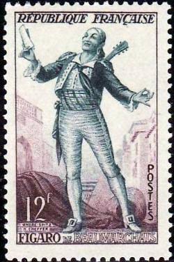 Figaro de Beaumarchais, comédie en cinq petits actes