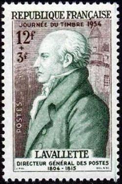 Comte de Lavalette (1804-1815) directeur général des Postes de 1804 à 1814