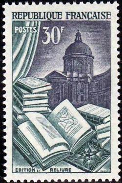 Edition reliure et institut de france
