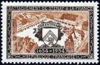 Rattachement de Stenay à la France (1654-1954)