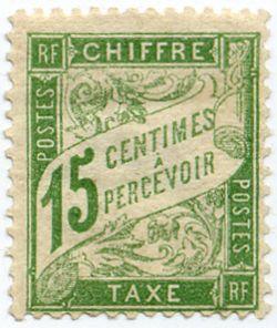 Timbre taxe