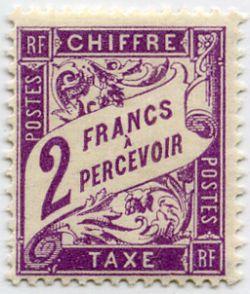 timbre taxe timbres de france mis en 1893 1935. Black Bedroom Furniture Sets. Home Design Ideas
