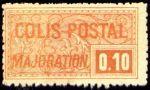 ' Colis postal ''majoration'' '