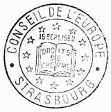 Oblitération 1er jour à Paris, Strasbourg et Aix-en-Provence le 15 septembre 1962