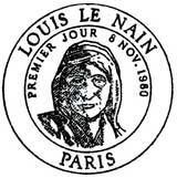 Oblitération 1er jour à Paris le 8 novembre 1980