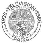 Oblitération 1er jour à Paris le 26 janvier 1985
