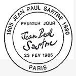 Oblitération 1er jour à Paris le 23 février 1985