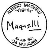 Oblitération 1er jour à Paris et Vallauris le 14 juin 1986
