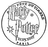 Oblitération 1er jour à Paris le 10 mars 2007