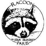 Oblitération 1er jour à Paris ou villes de DOM le 28 avril 2007