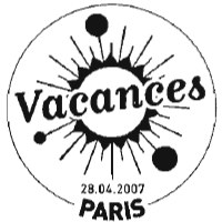 Oblitération 1er jour à Paris le 28 avril 2007