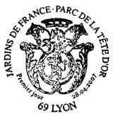 Oblitération 1er jour à Lyon le 28 avril 2007