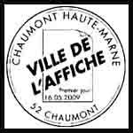 Oblitération 1 jour  à Chaumont (52000) le samedi 16 mai 2009