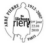 Oblitération 1 jour  à Paris au Carré d'Encre le 22 janvier 2010