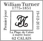 Oblitération 1 jour  à Paris au Carré d'Encre et à Calais le 19 et 20 février 2010