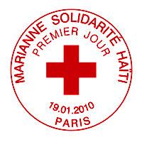 Oblitération 1 jour  à Paris au Carré d'Encre et dans les 112 villes participant à la fête du timbre le 27 et 28 février 2010