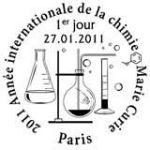 Oblitération 1er jour à Paris  au Carré d'Encre le 27 janvier 2011
