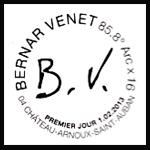 Oblitération 1er jour à Paris au Carré d'Encre et à Château-Arnoux-Saint-Aubab le 1 et 2 février 2013