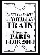 Oblitération 1er jour à Paris au Carré d'Encre et au salon Planète Timbres le samedi 14 juin 2014