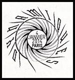 Oblitération 1er jour à Paris au Crréd'Encre le samedi 4 janvier 2014