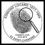 Oblitération 1er jour à Paris au Carré d'Encre, Lyon, St-Chamont le 15 et 16 avril 2016