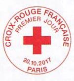 Oblitération 1er jour à Paris au Carré d'Encre le 20 et 21 octobre 2017