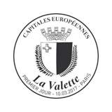 Oblitération 1er jour à Paris au Carré d'Encre et au Salon Philatélique de Printemps le 10 mars 2017