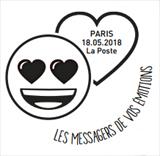 Oblitération 1er jour à Paris au carré d'Encre le 18 et 19 mai 2018